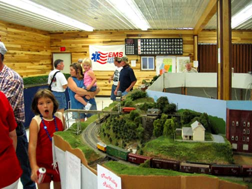 Northern WV Model Train Show--Labor Day Weekend